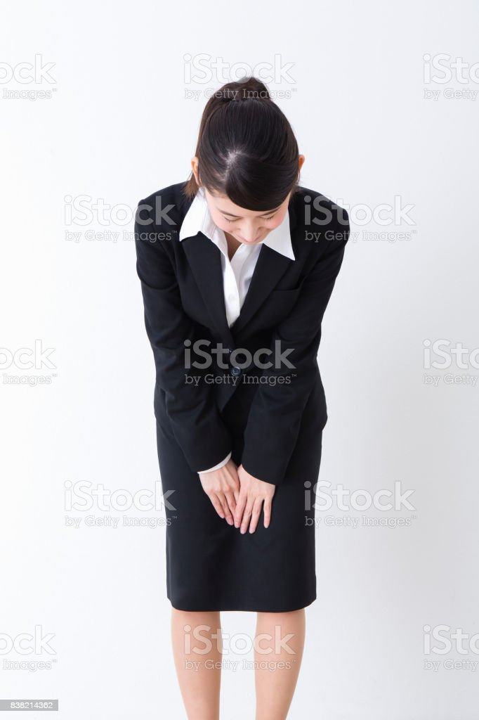 Women in suits stock photo