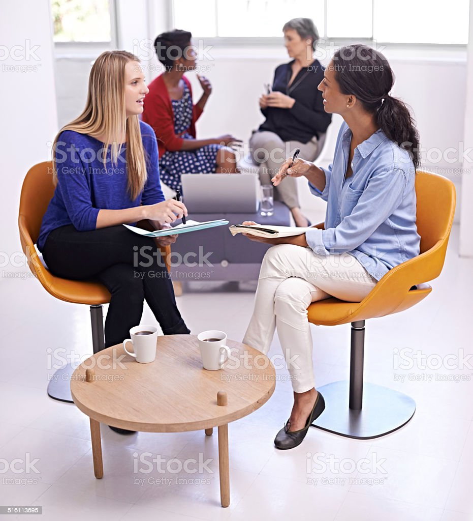 Women in the workplace stock photo