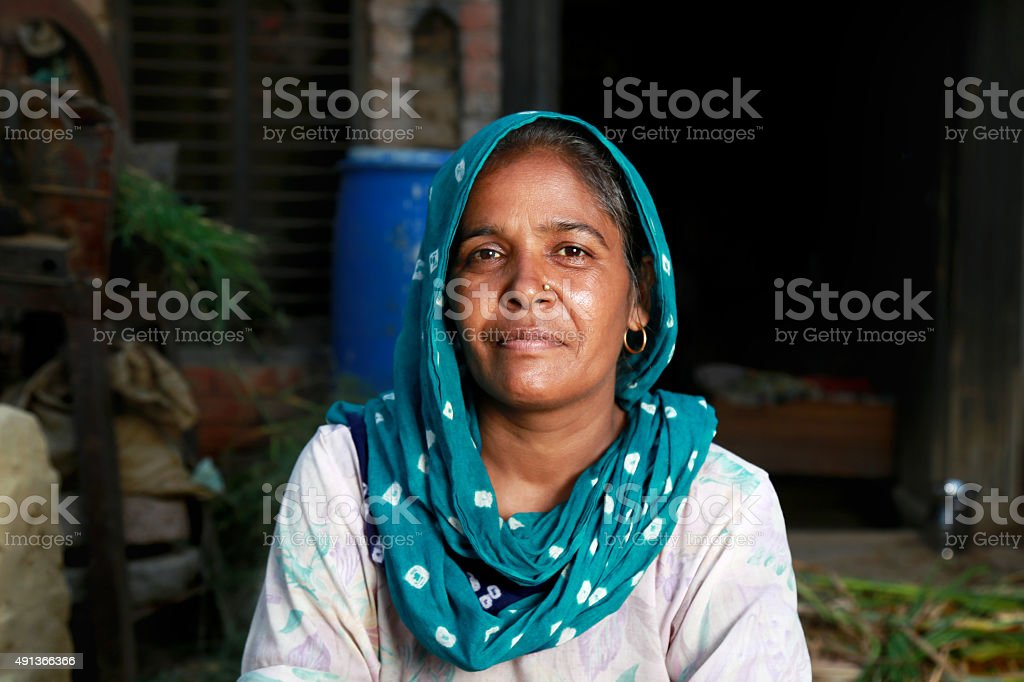 Women In Traditional Dress stock photo