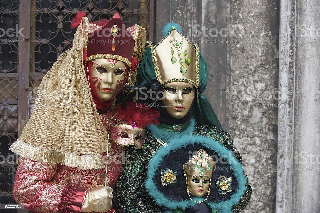 Women in Venice royalty-free stock photo