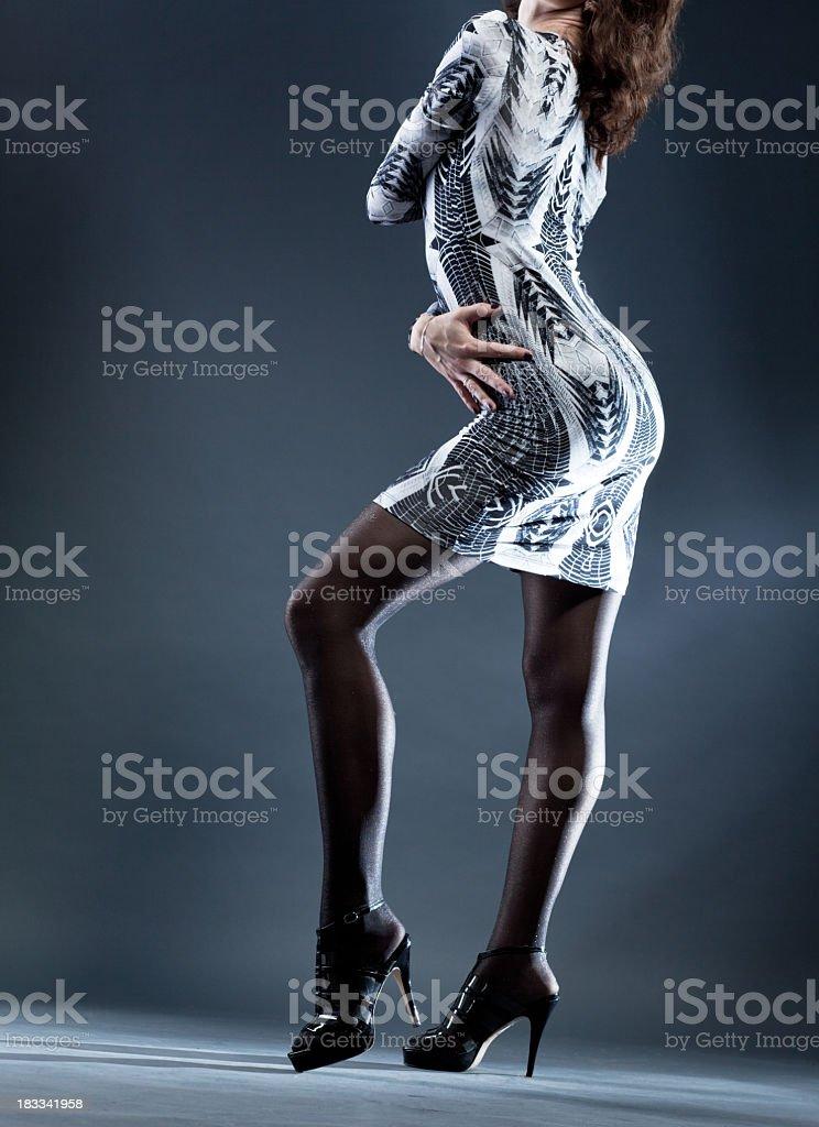 Women legs royalty-free stock photo