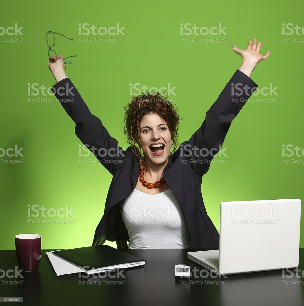 Women managers royalty-free stock photo