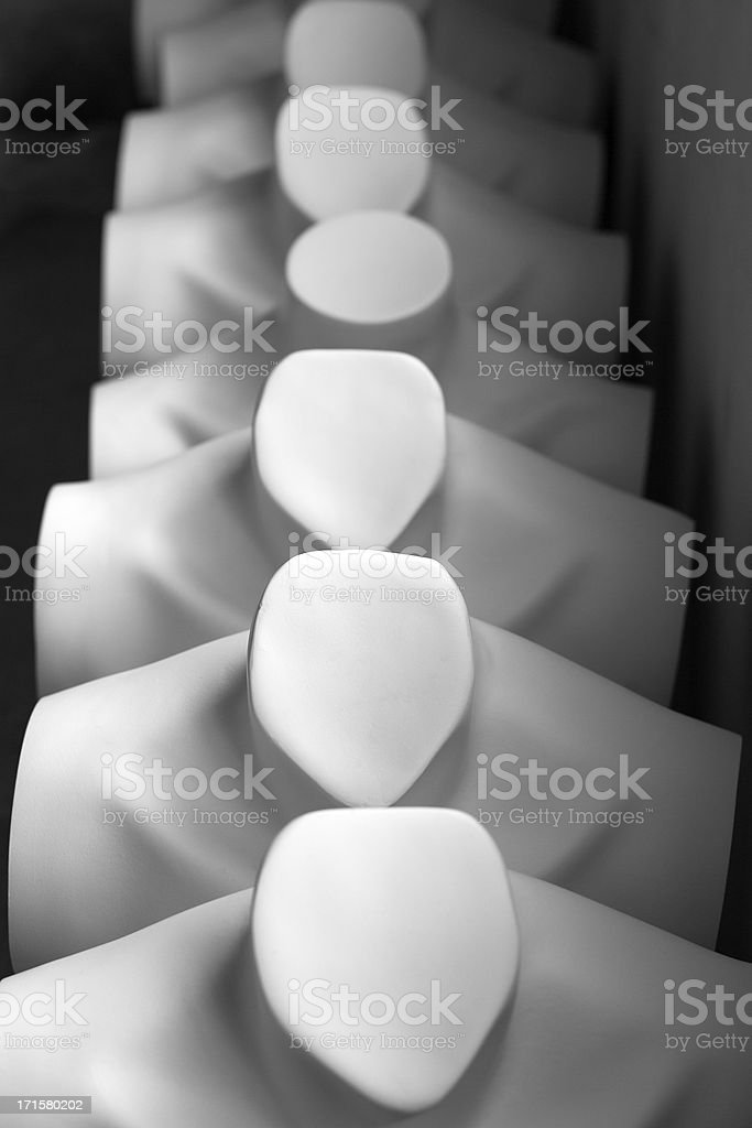 women mannequin's chest. royalty-free stock photo