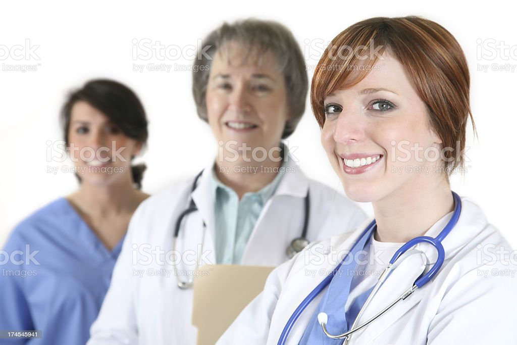 Women Medical Professionals royalty-free stock photo