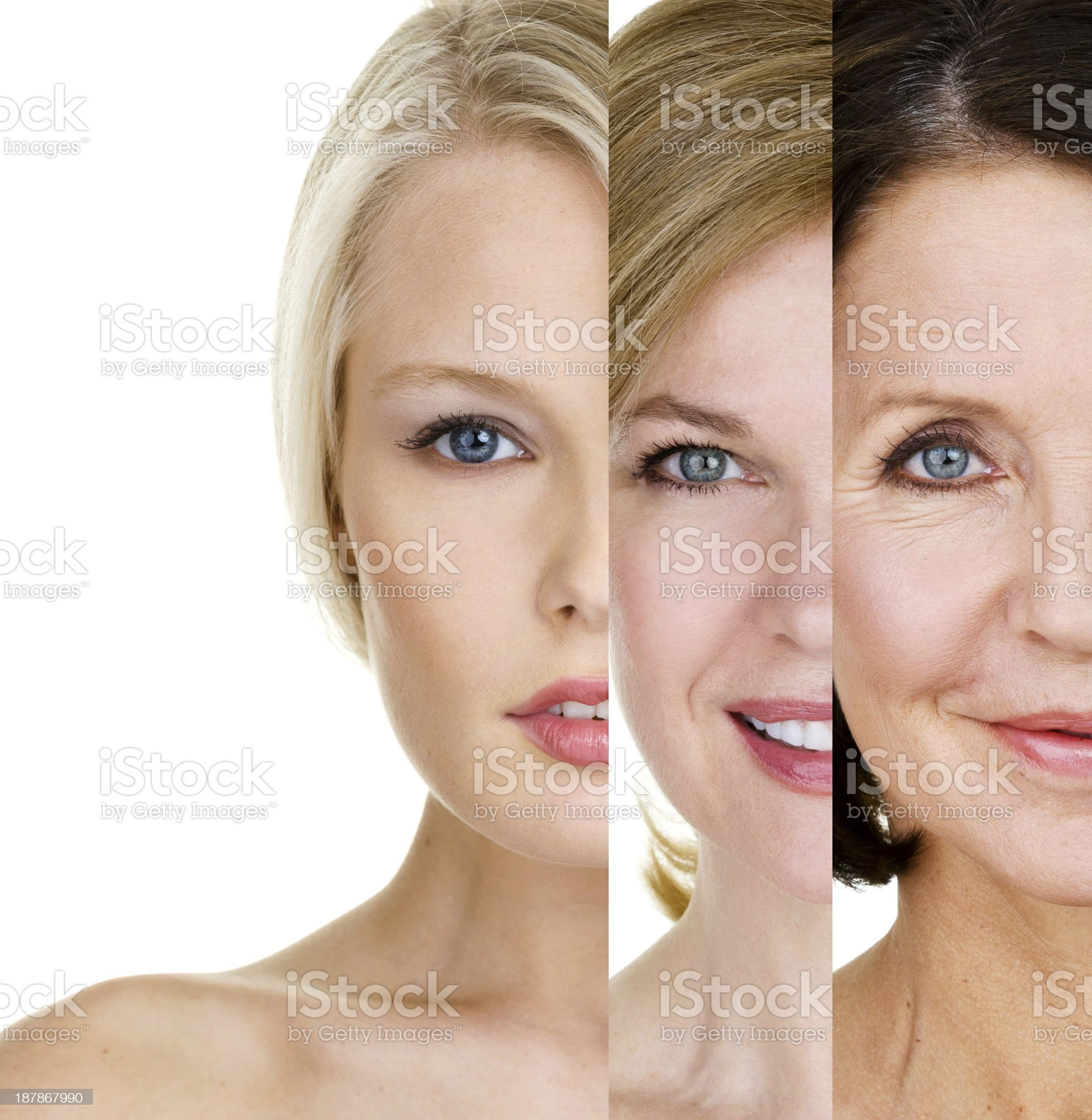 Women of different ages royalty-free stock photo