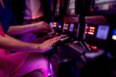 Women on slot machines