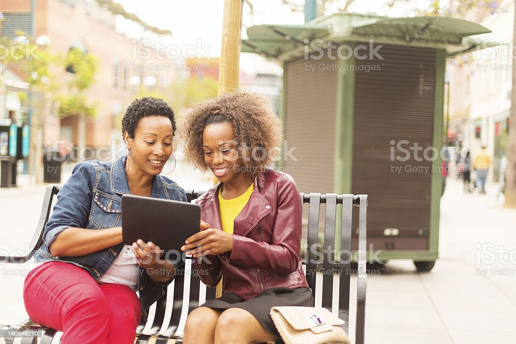 Women Online Shopping royalty-free stock photo