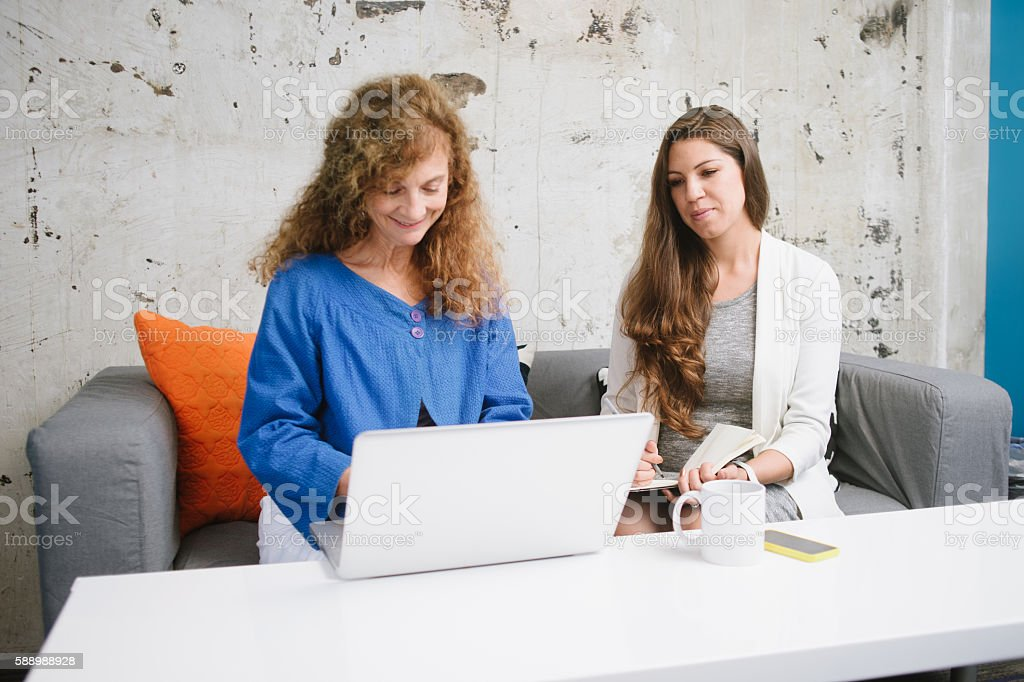 Women Owned Tech Start-Up stock photo