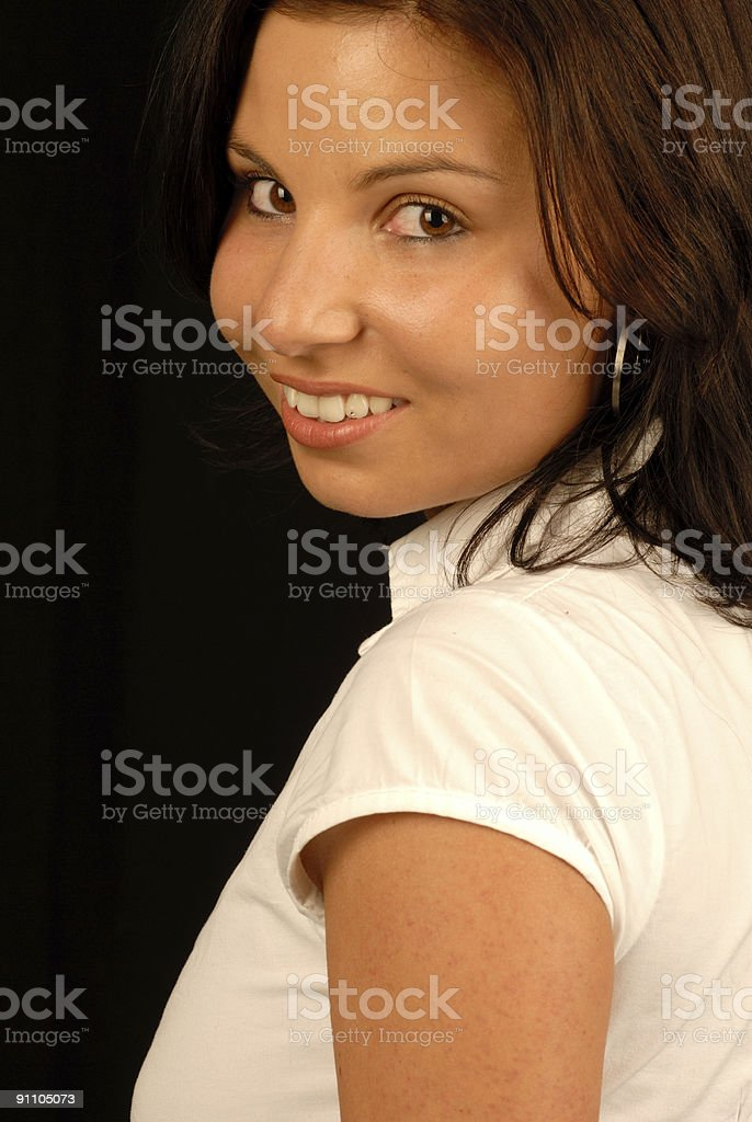 women portrait royalty-free stock photo