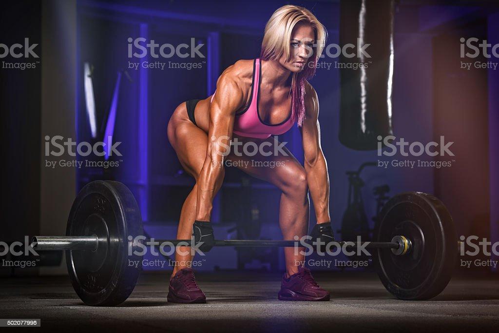 Women Power stock photo