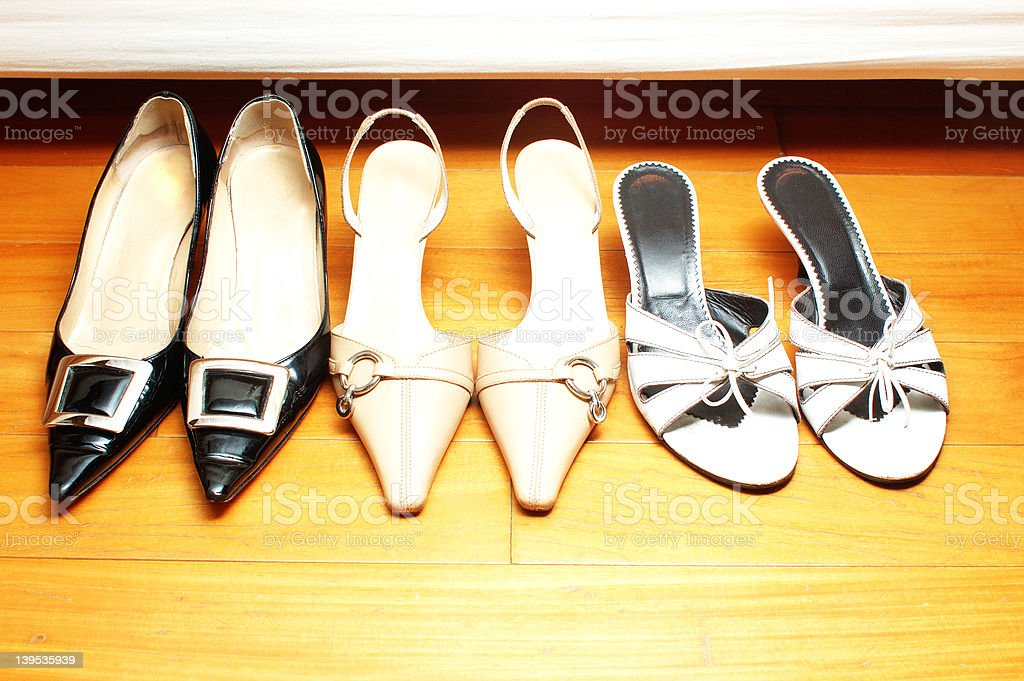 women shoes royalty-free stock photo