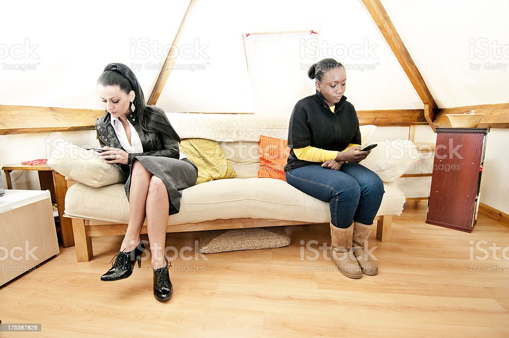 Women with relationship problems royalty-free stock photo