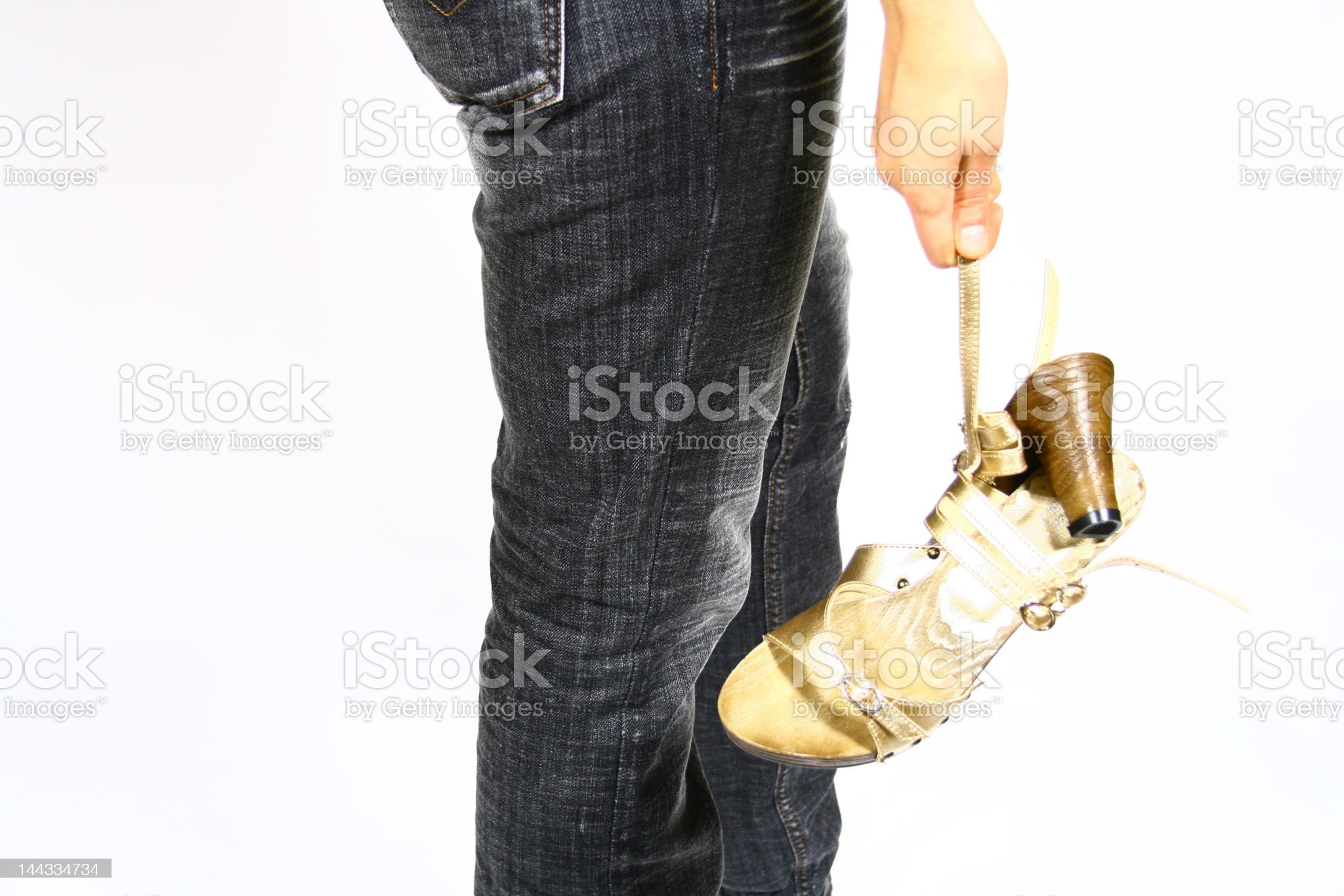 women with shoes royalty-free stock photo