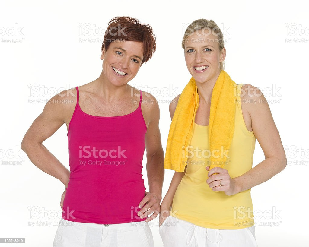Women workout royalty-free stock photo
