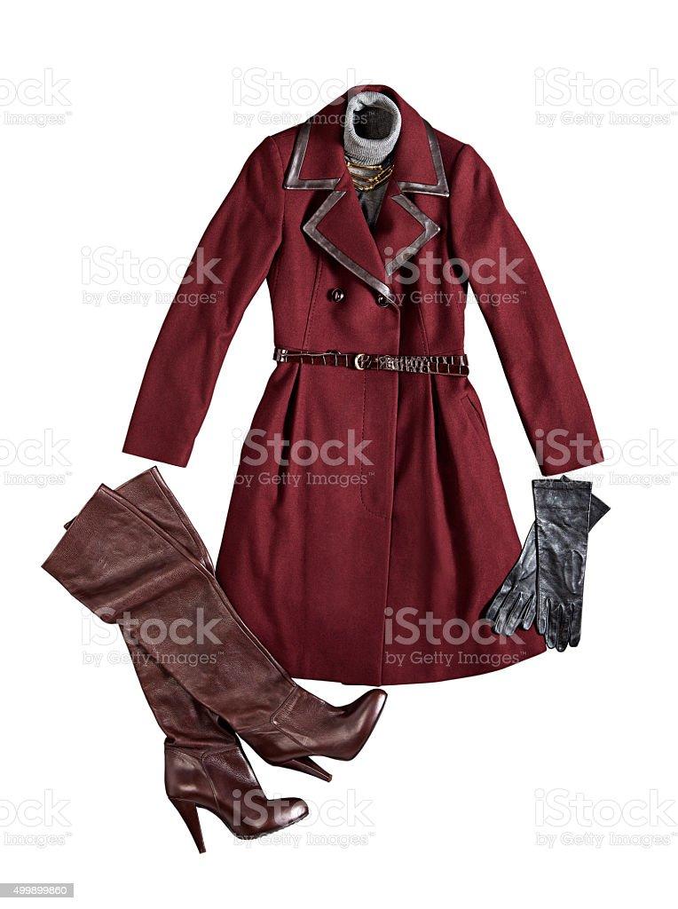 women's clothes stock photo