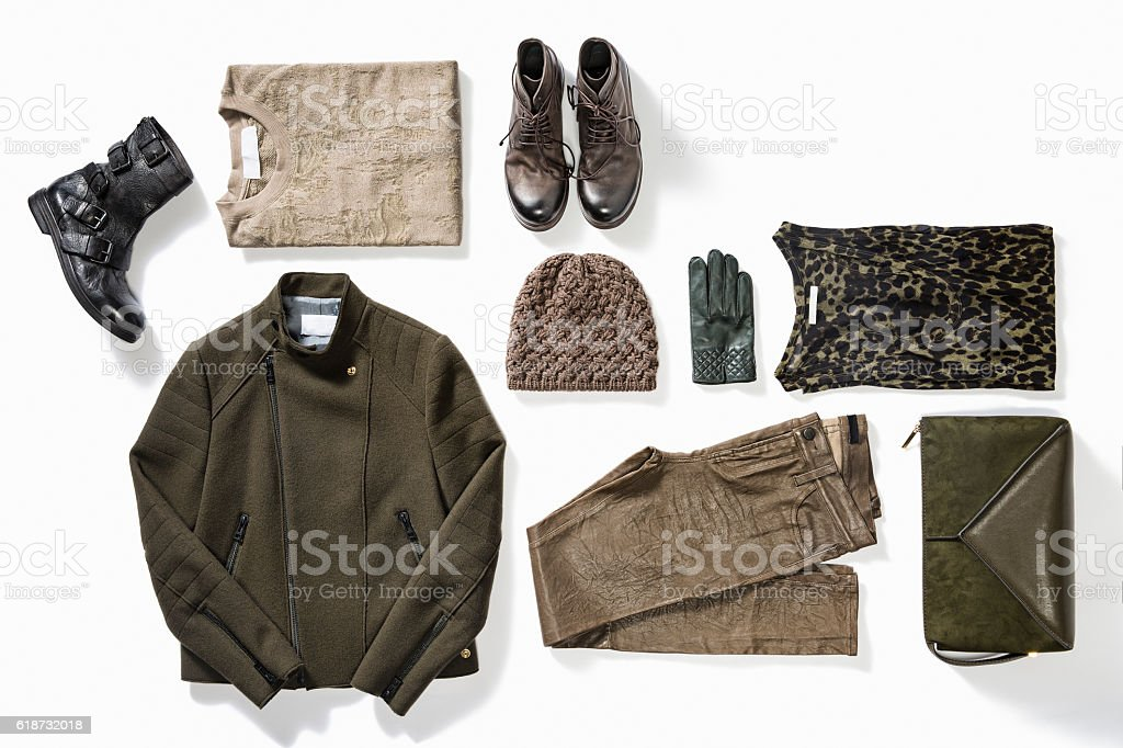 women's clothes stock photo