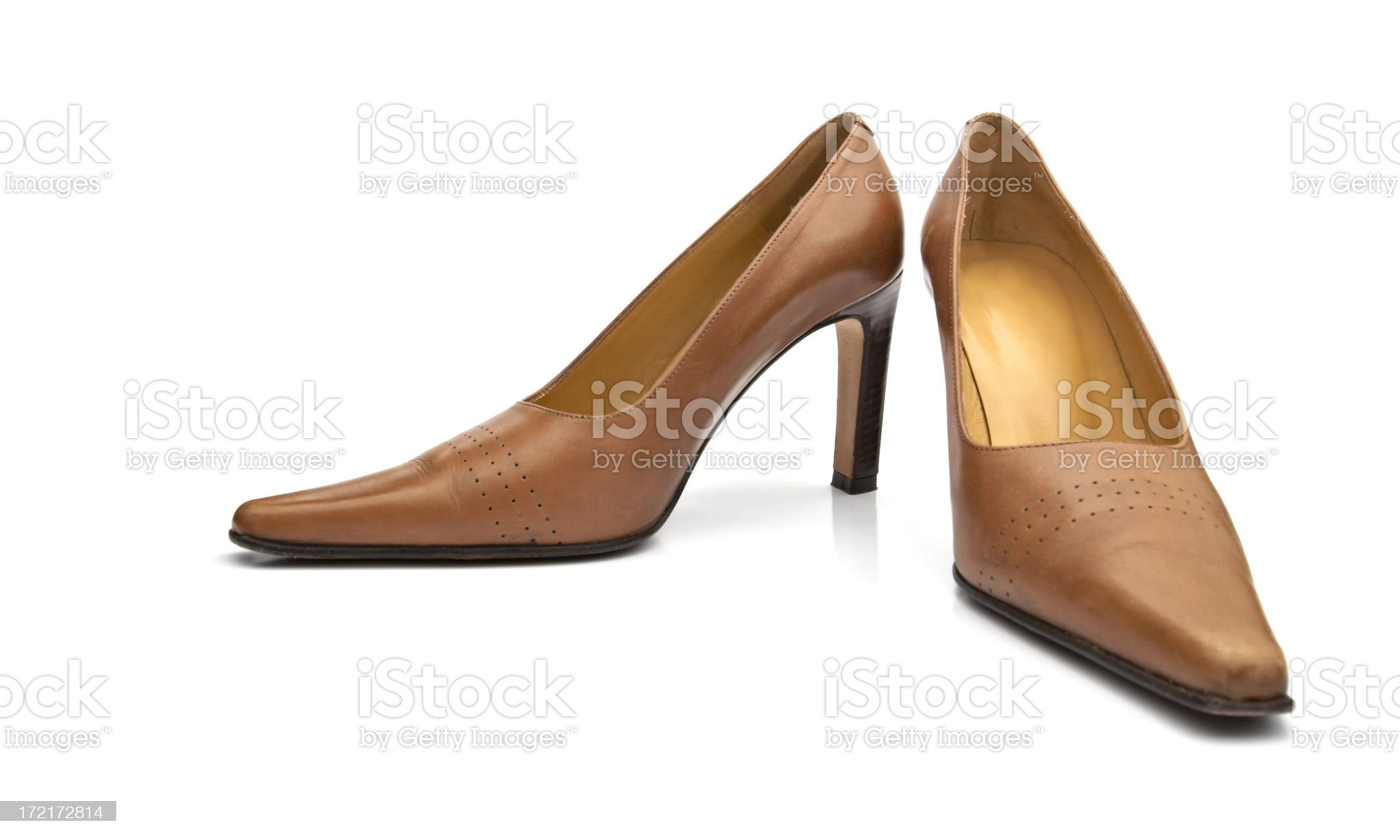 Women's dress shoes royalty-free stock photo