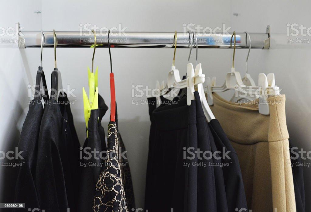women's dressing room stock photo