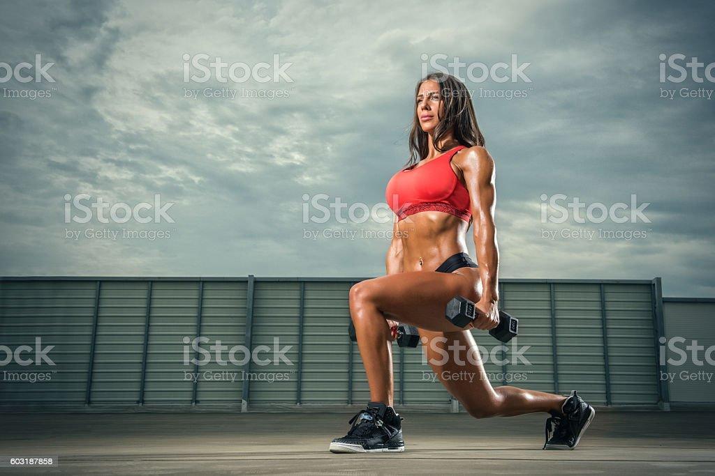 Women`s Fitness stock photo