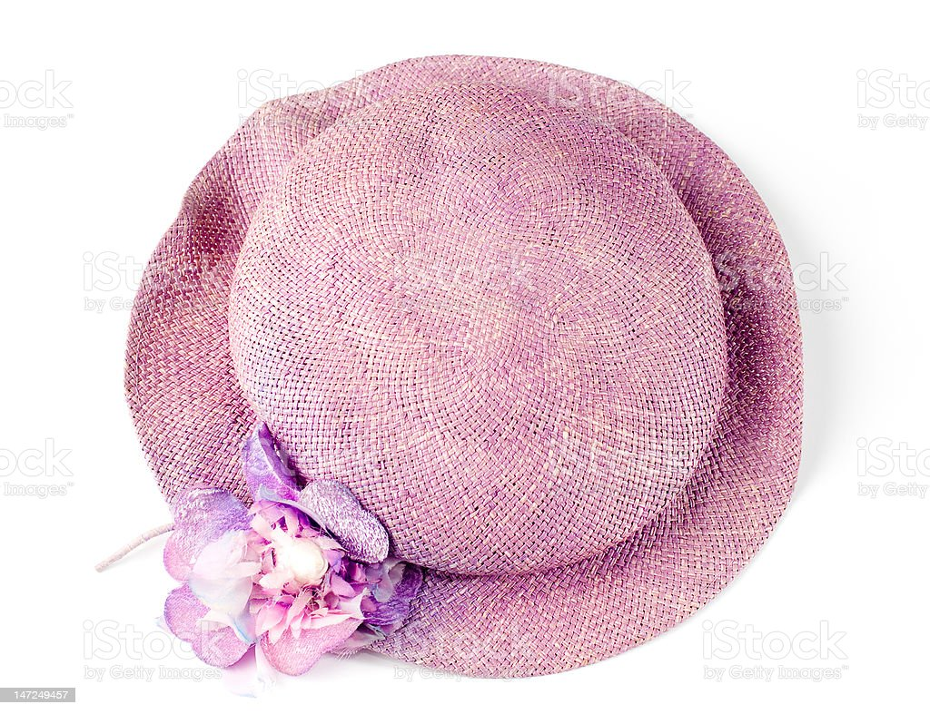 Womens hat royalty-free stock photo