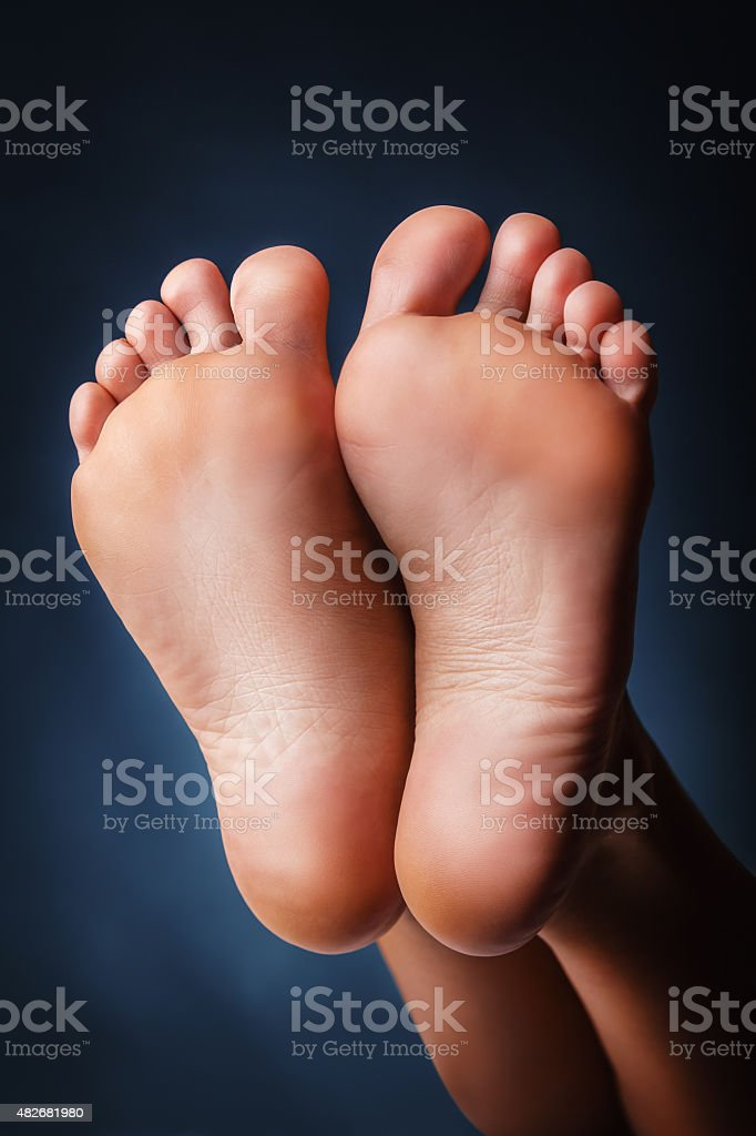 Women's heels stock photo