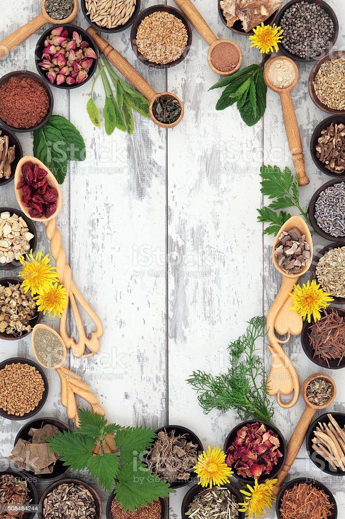 Womens Herbal Health stock photo