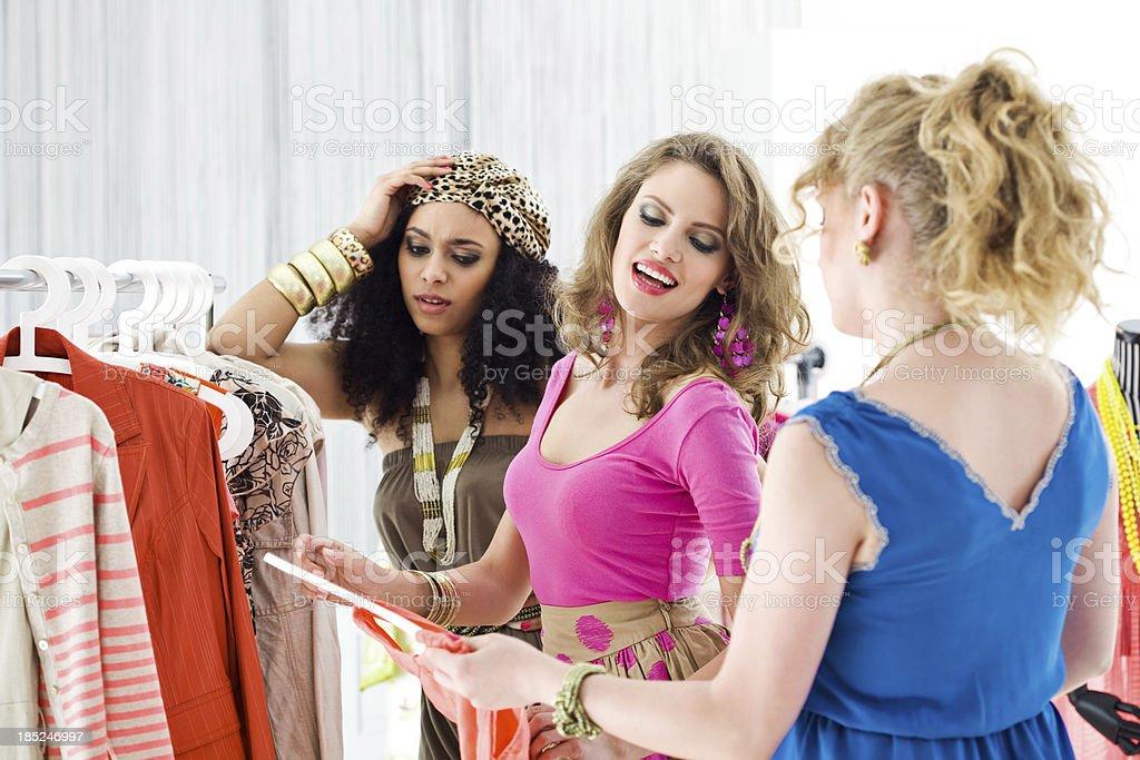 Women's hobby royalty-free stock photo