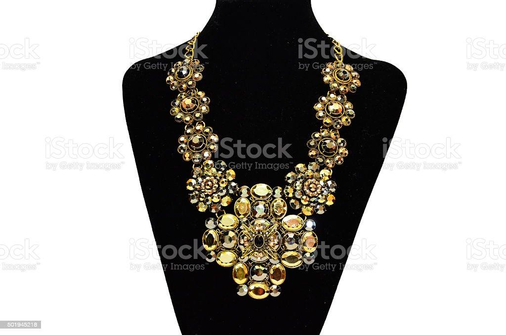 Women's Necklace stock photo