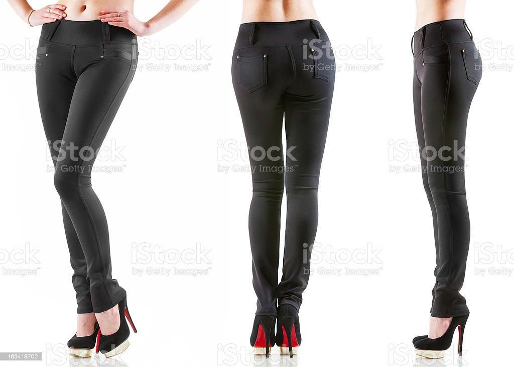 Women's pants royalty-free stock photo
