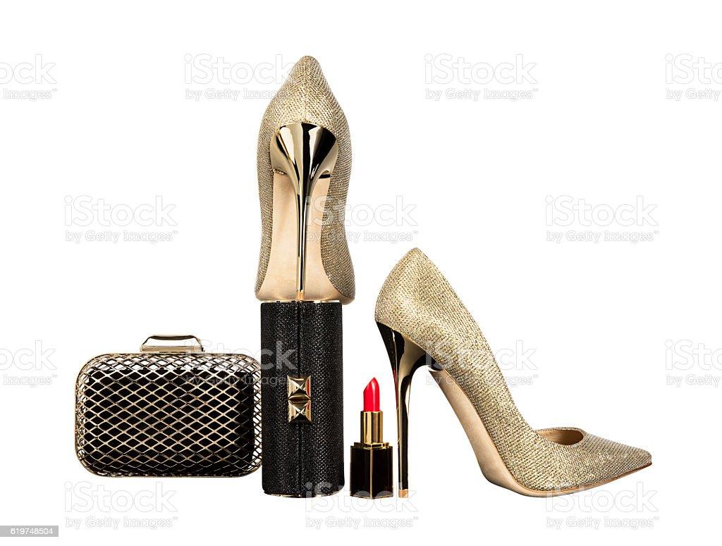 women's personal accessories stock photo