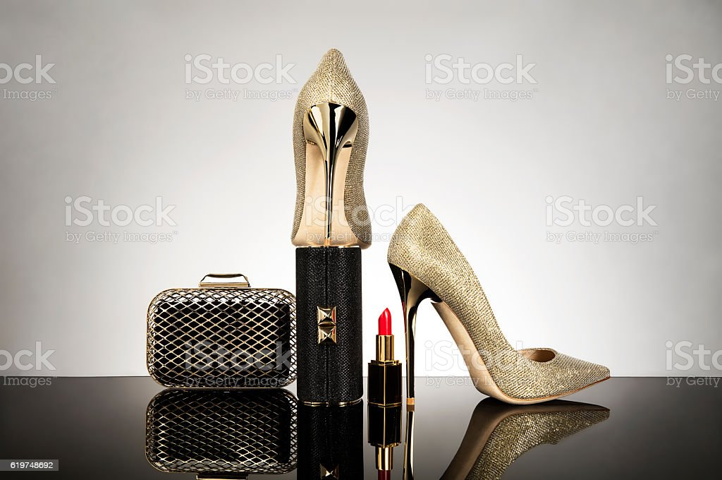 women's personal accessories stock photo