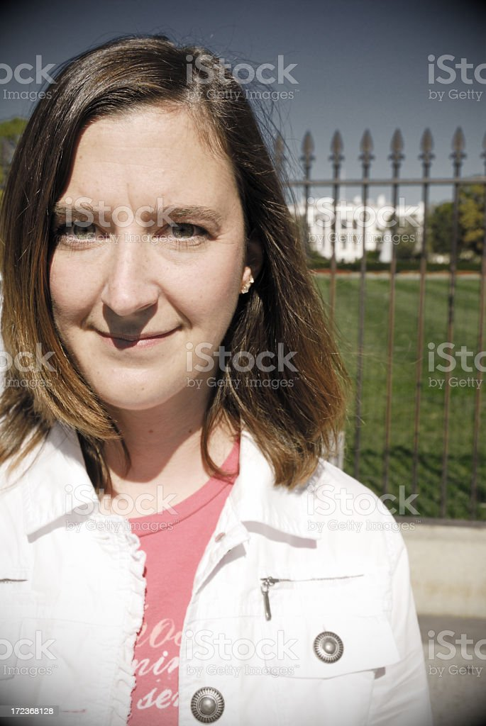 Women's Rights at the White House royalty-free stock photo