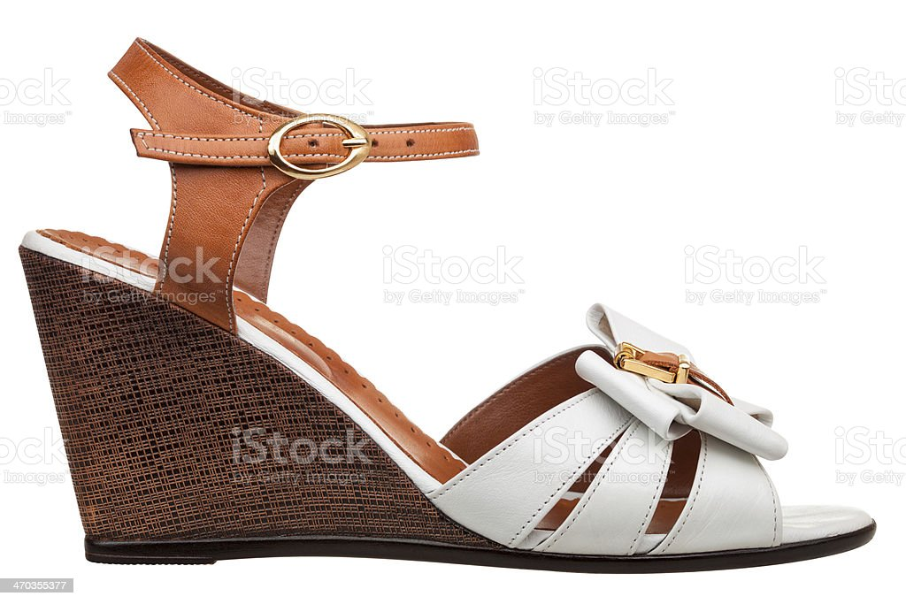 Womens sandals stock photo