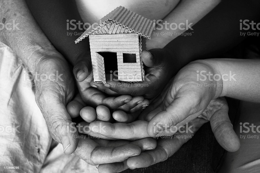 women's shelter stock photo
