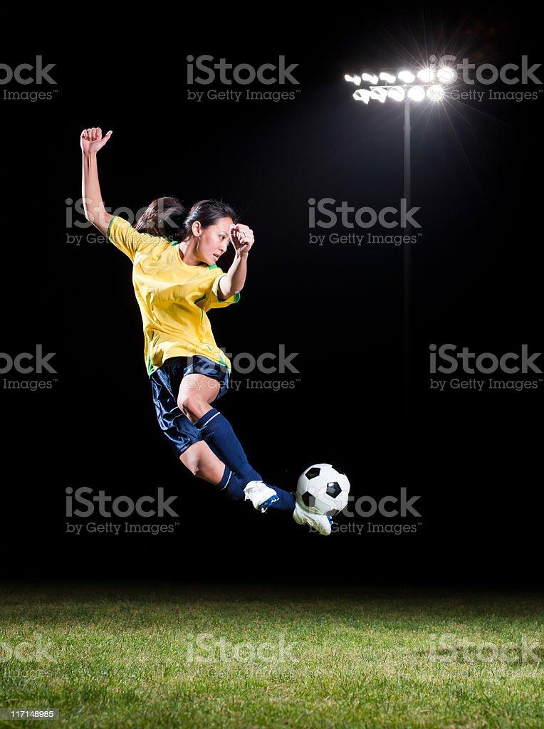 Women's Soccer royalty-free stock photo