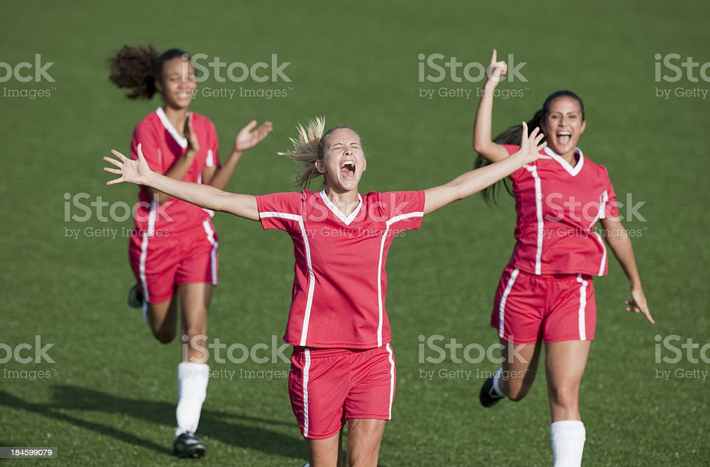 Womens Soccer stock photo