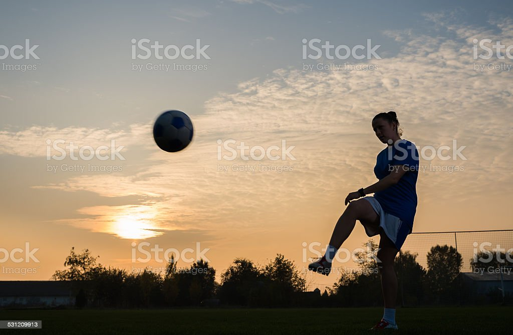women's soccer stock photo