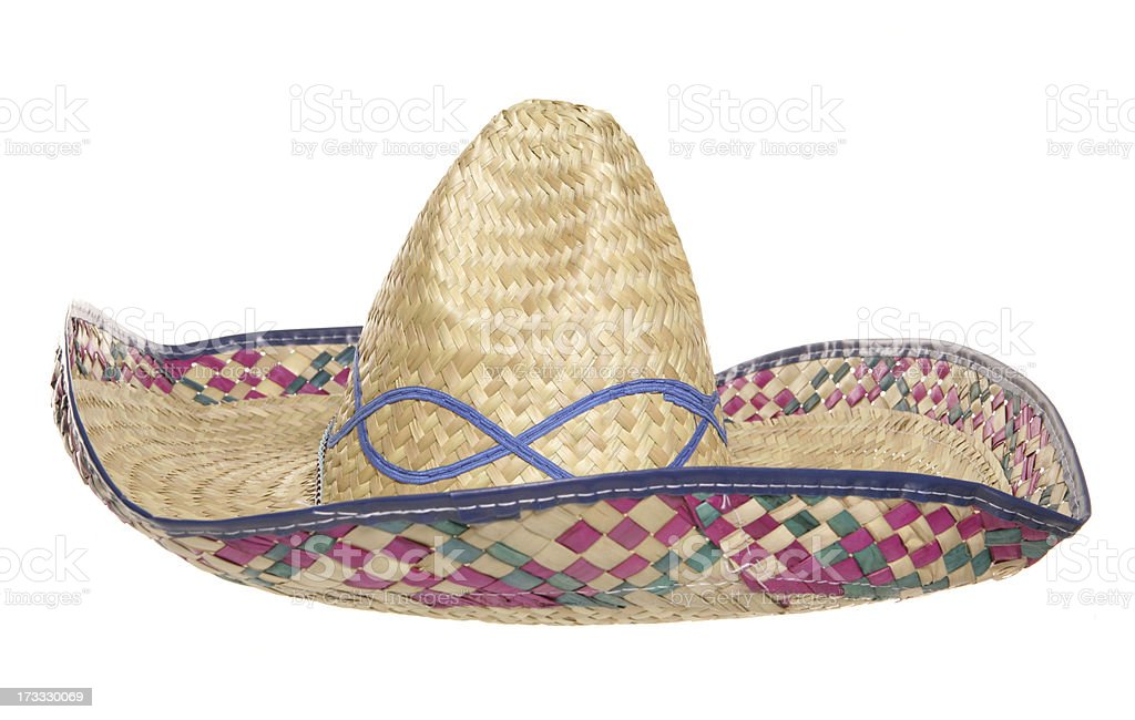womens sombrero hat royalty-free stock photo