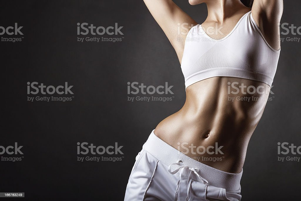 Women's sports shape stock photo