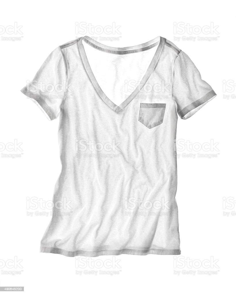 Women's T-Shirt stock photo