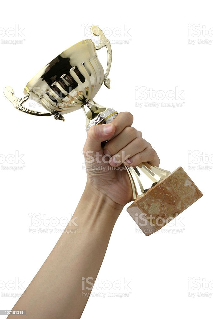 I won! royalty-free stock photo