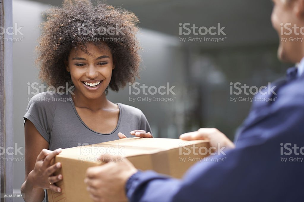 I wonder who sent me something stock photo