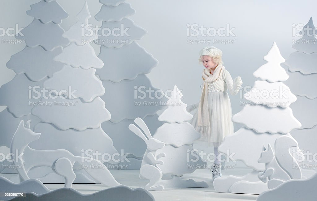 Wonderful And Unexpected Encounter stock photo