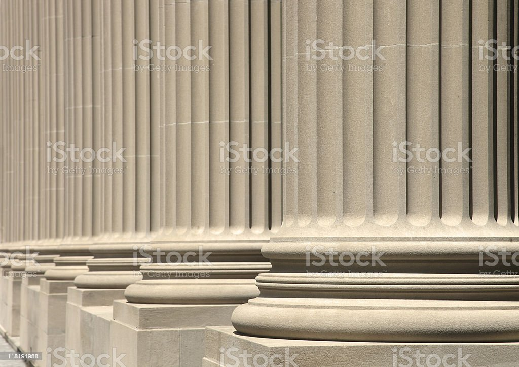 wonderful columns royalty-free stock photo