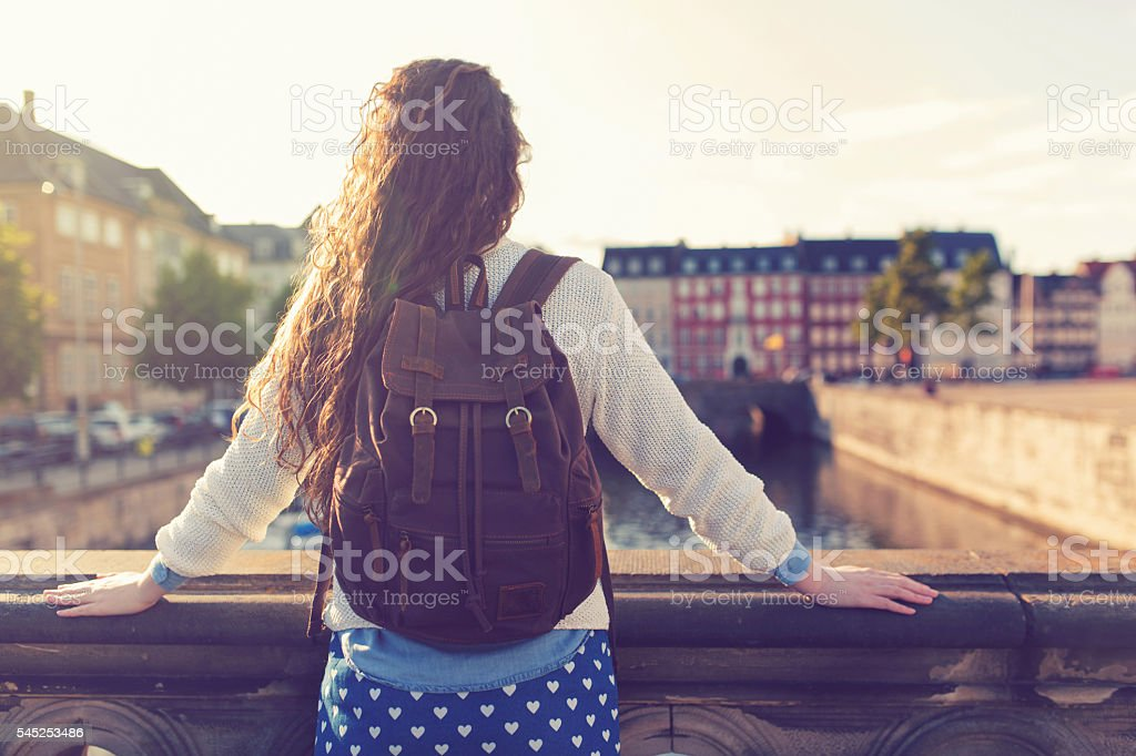 Wonderful Copenhagen stock photo