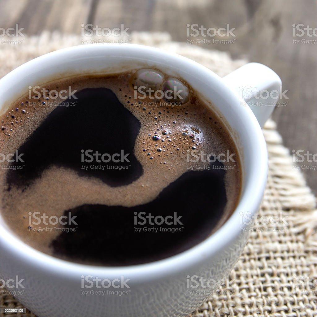 wonderful cup of coffee stock photo