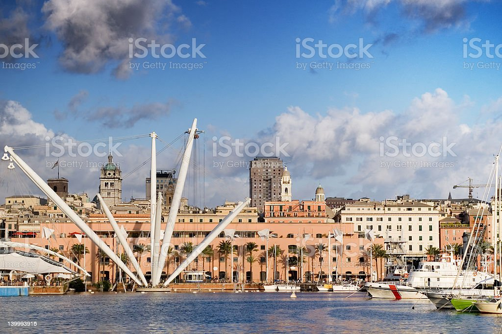 Wonderful Genoa stock photo