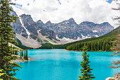 Wonderful Moraine Lake