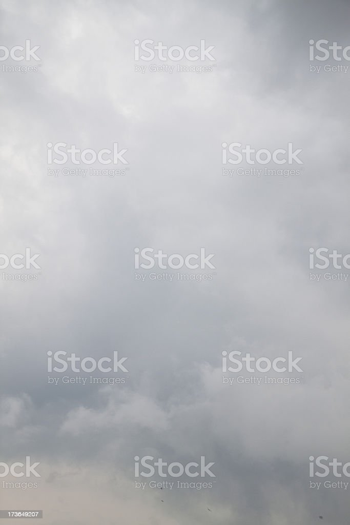 Wonderful rainy sky royalty-free stock photo