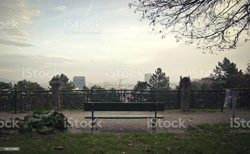 Wonderful Skyline of Linz royalty-free stock photo